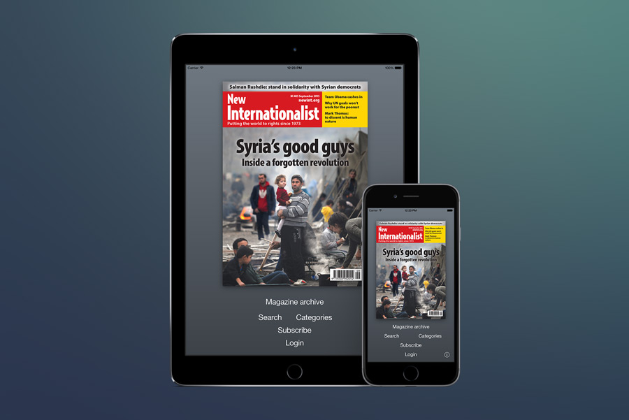 New Internationalist Magazine for iOS.
