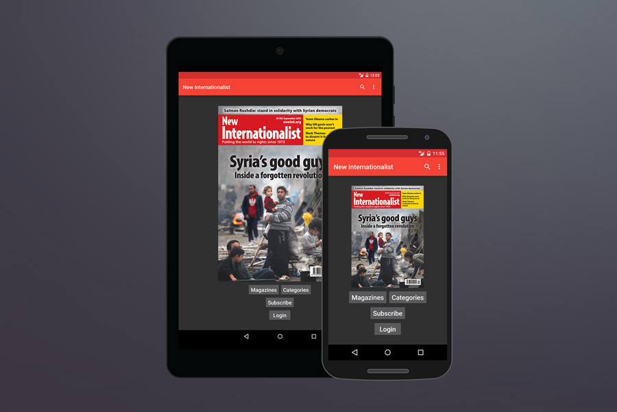 New Internationalist Magazine for Android.
