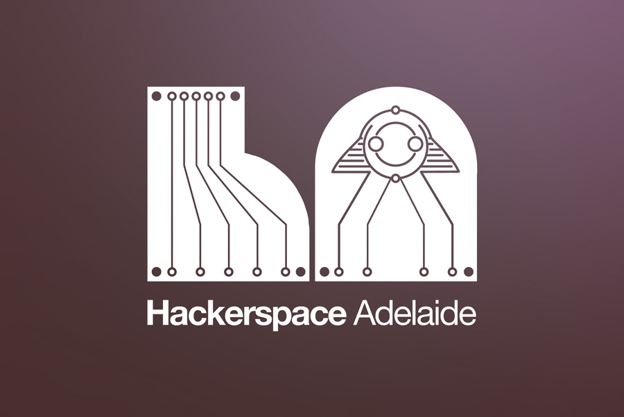 Hackerspace Adelaide logo.
